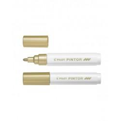 Marcatore pintor medio colore oro tipo punta tonda