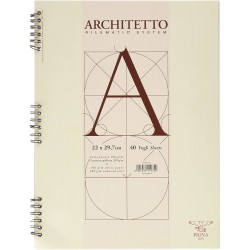 Block-notes architetto f.to a4