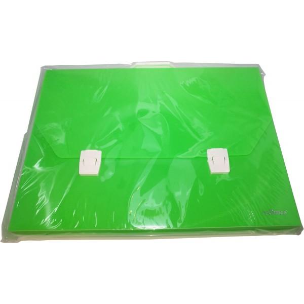 Valigetta polipropilene 27x37x5cm fluo colore assortiti