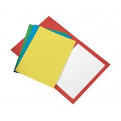 Cartelline senza lembi colore fucsia grammatura 200gr
