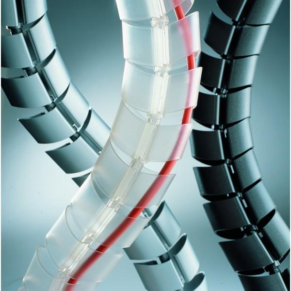 Sistema di canalizzazione vertebra col.antracite colore antracite