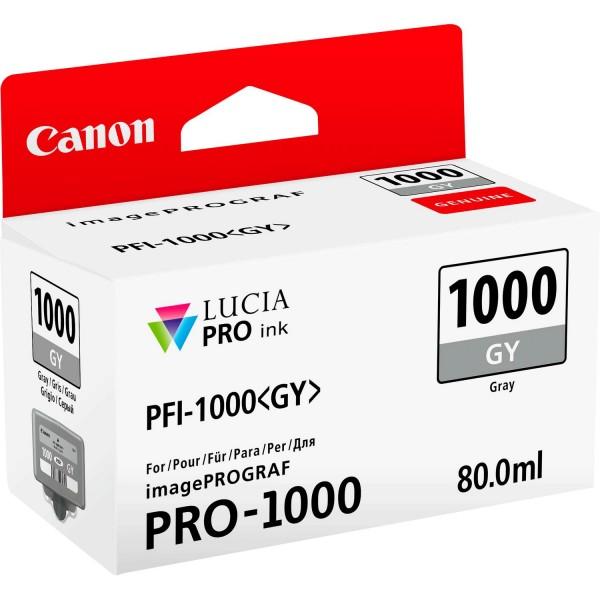 Canon pfi1000 serbatoio grigio colore grigio