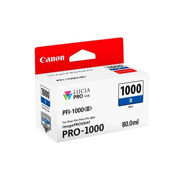 Canon pfi1000 serbatoio blu colore blu
