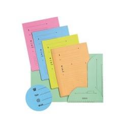 Cartelline in cartoncino a 2 alette colore assortiti