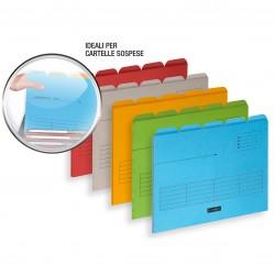 Classificatori ultimate (confezione da 5pz) colore assortiti