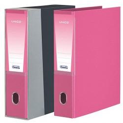 Registratore unico d8 f.to protocollo rosa colore nero/grigia colore rosa