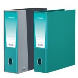 Registratore unico d8 f.to protocollo verde acqua colore nero/grigia colore verde acqua