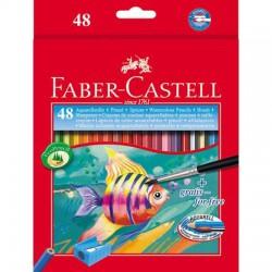Astuccio 48 matite colorate acquerellabili colore assortiti colore assortiti