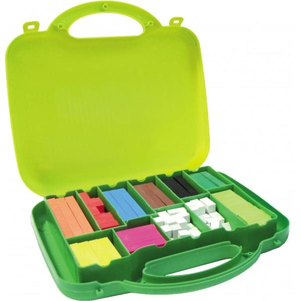 Valigetta 200 regoli numeri colori assortiti colore assortiti