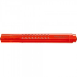 Evidenziatore grip 1543 colore arancione tipo punta scalpello