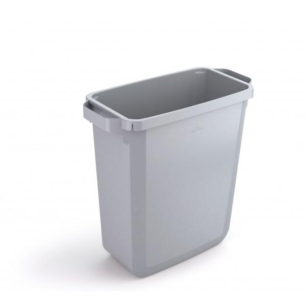 Cestino contenitore rettangolare durabin 60 colore grigio