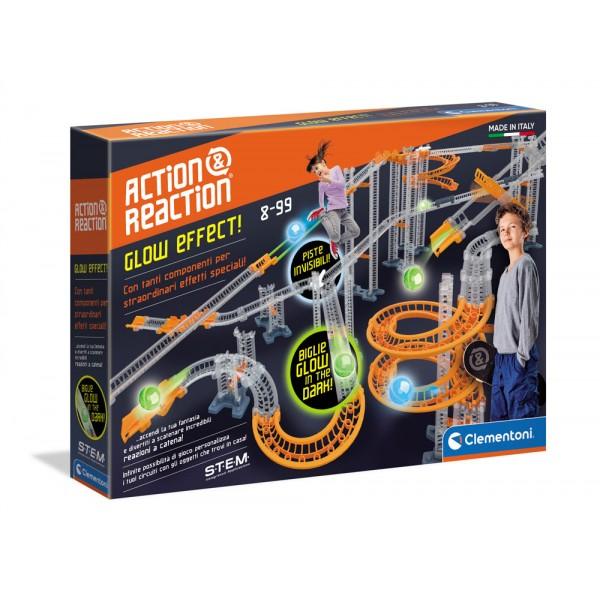 Azione e reazione - glow effect