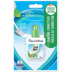 Blister correttore liquid paper 2 in 1