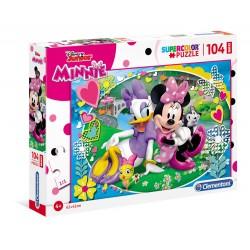 Minnie happy helper - puzzle 104pz maxi