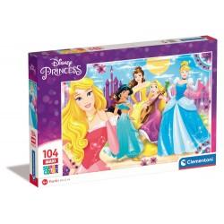 Principesse - puzzle 104pz maxi