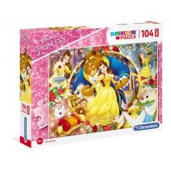 La bella e la bestia - puzzle 104pz maxi