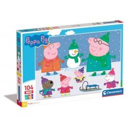 Peppa pig - puzzle 104pz maxi
