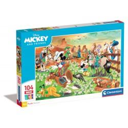 Topolino e amici - puzzle 104pz maxi