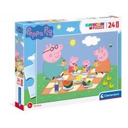 Peppa pig - puzzle 24pz maxi