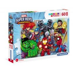 Superhero - puzzle 60pz maxi