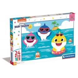 Baby shark - puzzle 24pz maxi