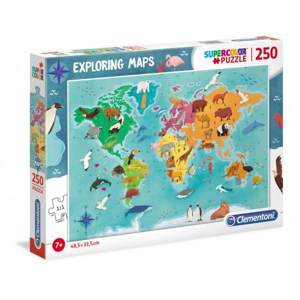 Animali nel mondo - puzzle 250pz