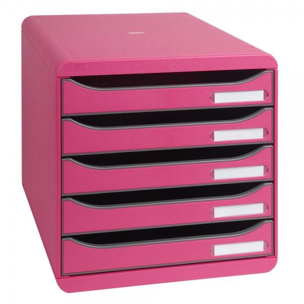 Cassettiera big box 5 cassetti lampone colore lampone colore lampone colore lampone