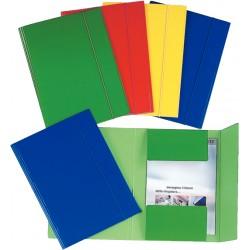 Cartelline con elastico in cartone