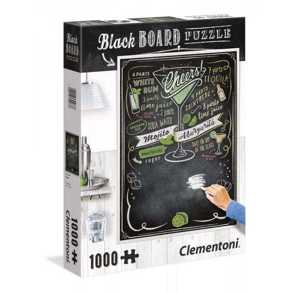 Blackboard puzzle, cheers - puzzle 1000pz