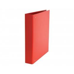 Raccoglitore daily a 4 anelli fto 22x30 colore rosso