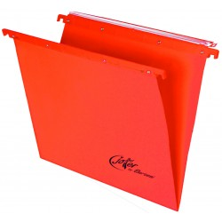 Cartelle sospese joker 39cm per cassetto colore arancione grammatura 270gr