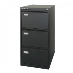 Kubo - classificatore 3 cassetti colore nero