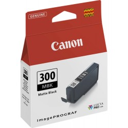 Canon pfi300mbk cartuccia nero opaco colore nero opaco