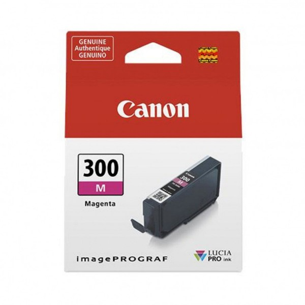 Canon pfi300m cartuccia magenta colore magenta