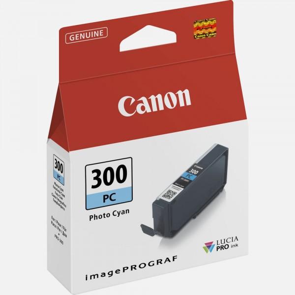 Canon pfi300pc cartuccia ciano foto colore ciano foto