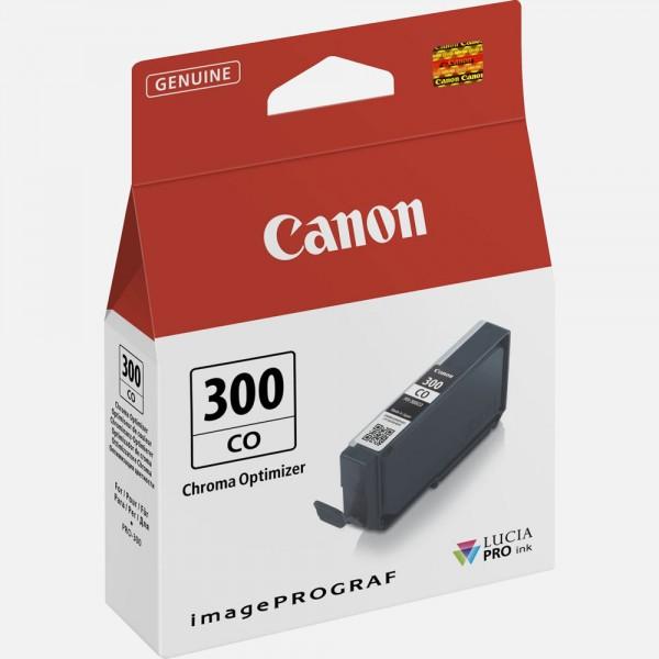 Canon pfi300co cartuccia chroma optimizer colore trasparente
