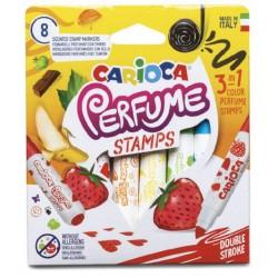 Astuccio 8 pennarelli parfume stamps colore assortiti colore assortiti