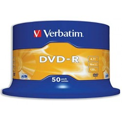 Verbatim dvd-r spindle 50pk