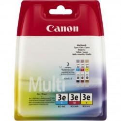Canon bci3e cartuccia multipack cmy colore ciano, magenta, giallo