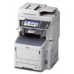 Oki es7170dfn multifunzione laser a4 mono colore bianco/grigio colore colore