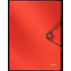 Cartellina progetto bepop con elastico colore rosso