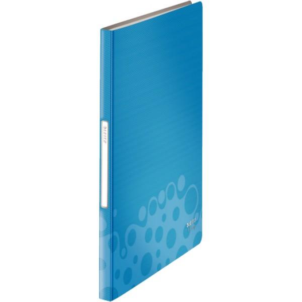 Cartellina progetto bepop con elastico colore blu