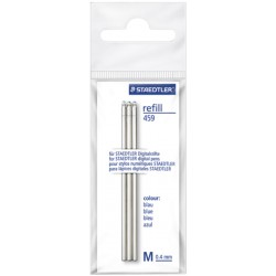 Refill mini per digital pen 3pz colore blu tipo punta conica