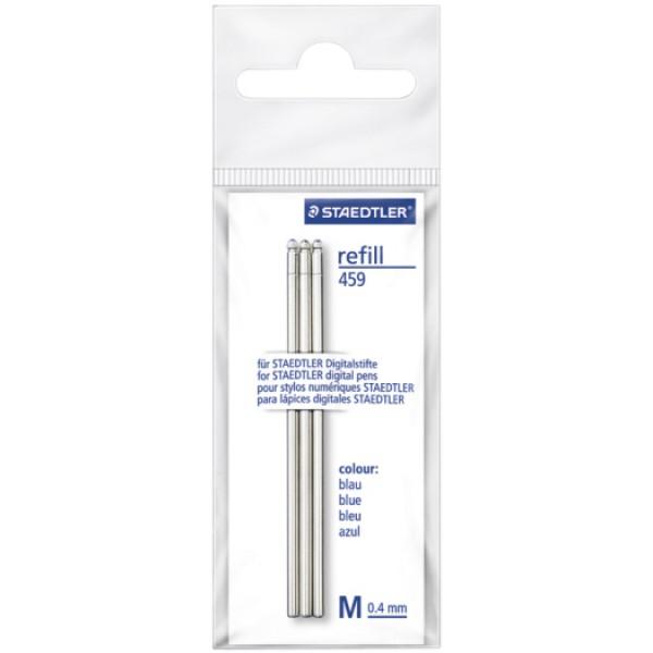 Refill mini per digital pen 3pz colore blu tipo punta conica