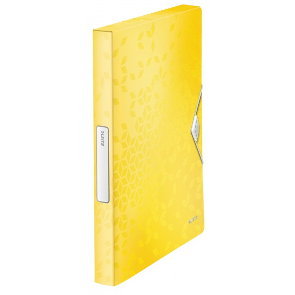 Cartellina progetto con elastico 3cm colore giallo