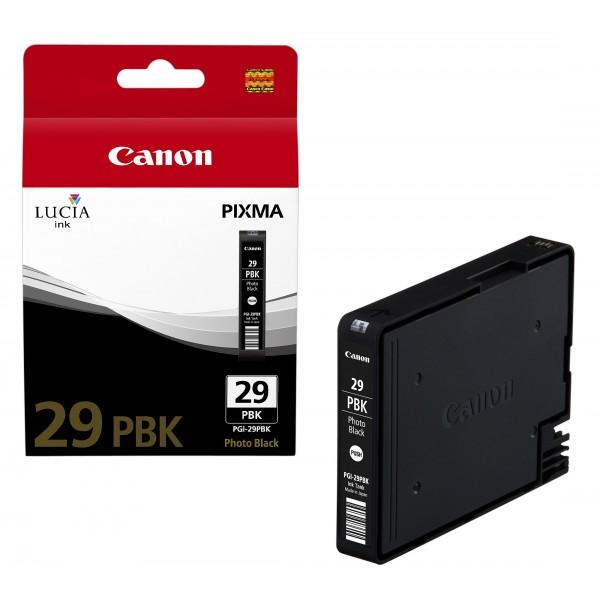Canon pgi29pbk cartuccia nero colore nero foto