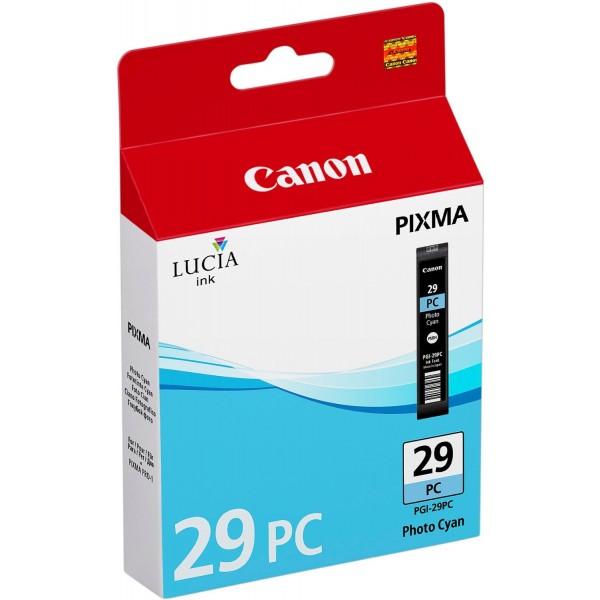 Canon pgi29pc cartuccia ciano foto colore ciano foto