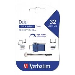 Verbatim store ´n´ go dual drive 3.0 colore nero