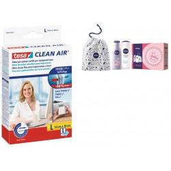 5pz di  filtro clean air  taglia l + kit nivea in regalo
