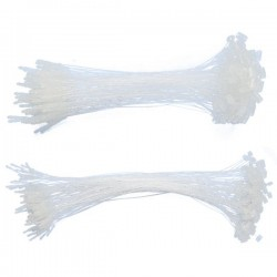 Fili di sicurezza 125mm colore bianco
